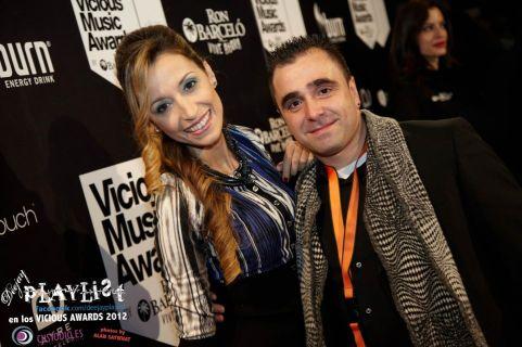 Con Luis, con quien me divertí mucho en una pasada actuacion que lleve de Erick Morillo en Bilbao.