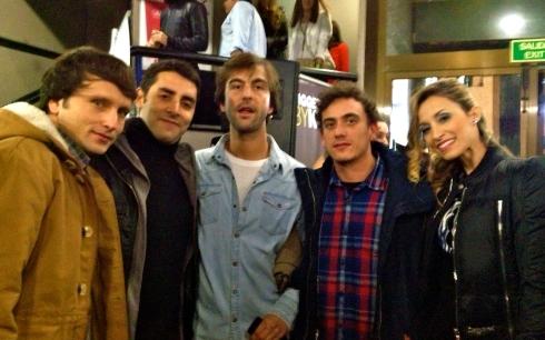 Con MG Group! Mi familia Underground!