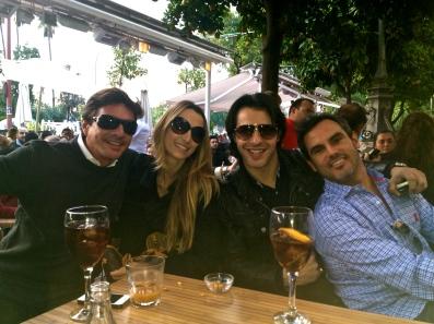 Mis amigos Antonio y Álvaro y mi granadino Abelardo! Hasta la próxima chicos!!