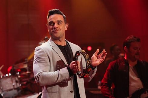 Robbie en Concierto
