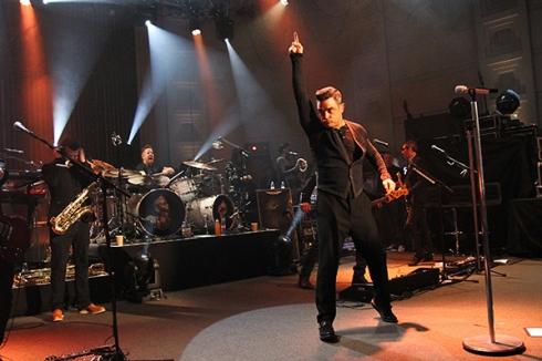 Robbie en Concierto II