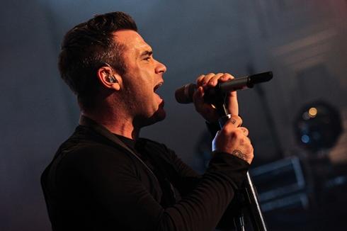 Robbie en Concierto III