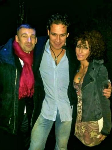 Alfonso Roldán (RRPP), Alfonso Gamarra (CEO) y Cher Marin (Directora RRPP) de Heaven