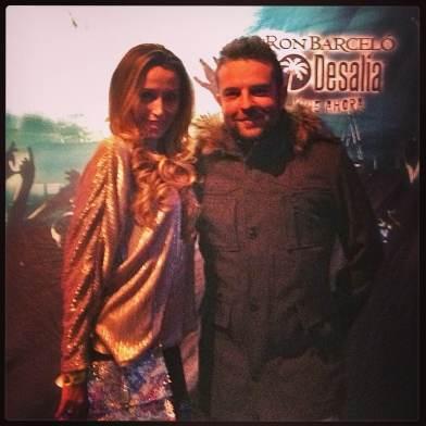 Con Juanjo Martin en el photocall ;)