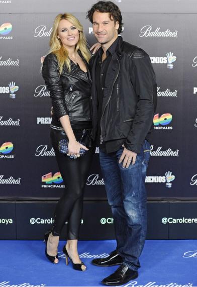 Carolina Cerezuela (Actriz) y Carlos Moyá (Ex tenista)