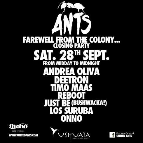 Closing ants ushuaia