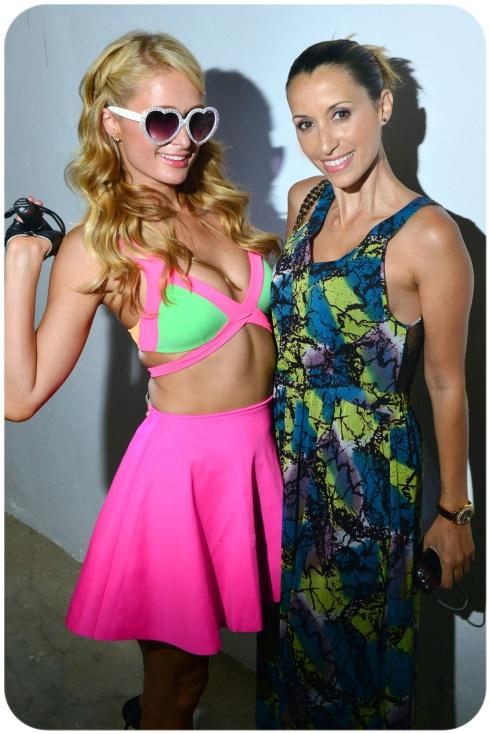 Con Paris Hilton en el camerino ;) Fotos by ©Paris Hilton