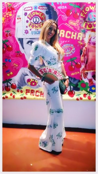 Photocall Flower Power VIP.