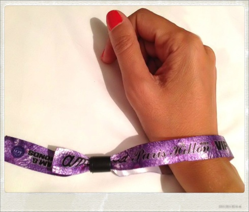 My vip bracelet Foam & Diamonds ♥
