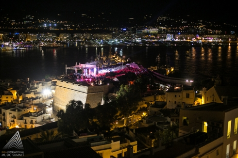 Dalt Vila un escenario de ensueño Foto by ©Ibiza International Music Summit