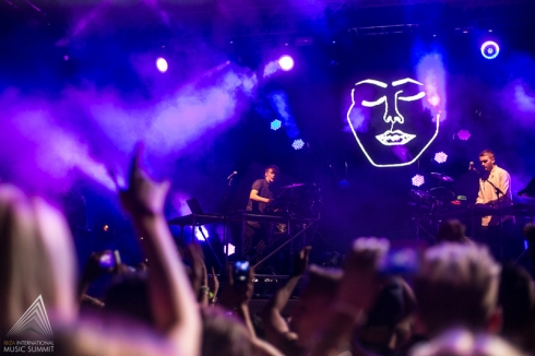 Impactante los visuales de DISCLOSURE Foto by ©Ibiza International Music Summit