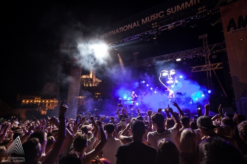DISCLOSURE hizo vibrar todo Dalt Vila!! Foto by ©Ibiza International Music Summit