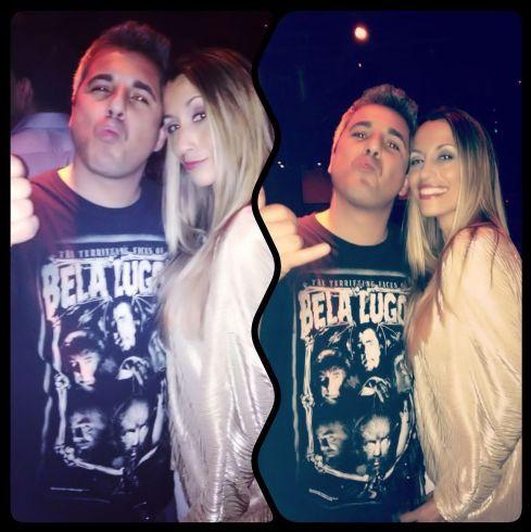 """""""El jefe"""" Leo Millares y yo. :)"""
