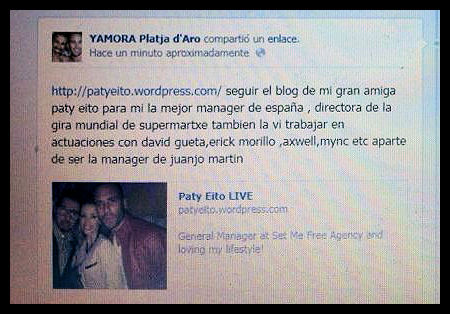 Gracias al club de Rafa Mora y Yago Hermida!!