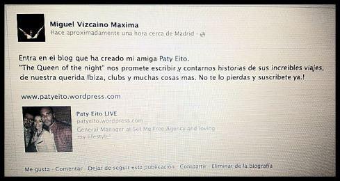 Miguel Vizcaíno radiolocutor de Máxima FM Gracias!!