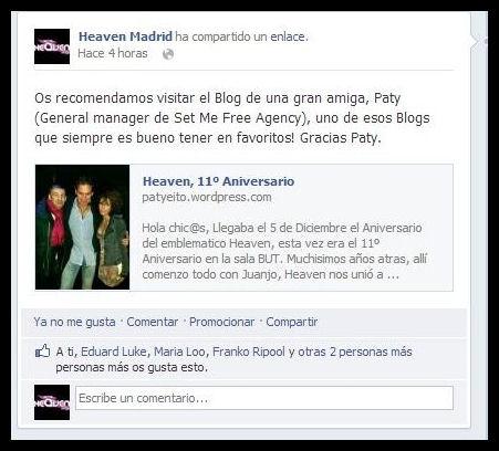 Heaven Madrid, post que hicimos de su sesión!