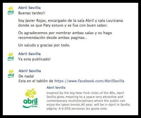 Abril Sevilla de mi amigo Pepe el mandón jajaja