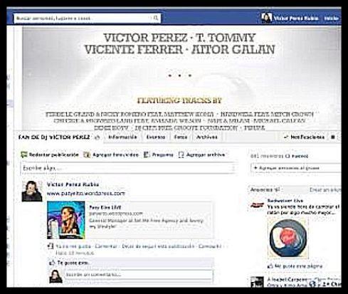 Victor Pérez también nos dió su granito de arena, muchas gracias!! :)