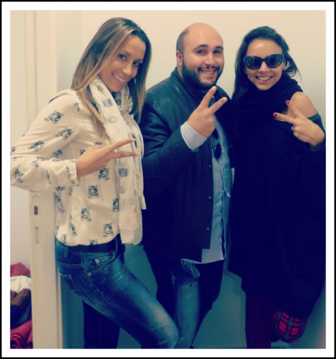 Con Kiko Rivera y la gran Chenoa ! :D