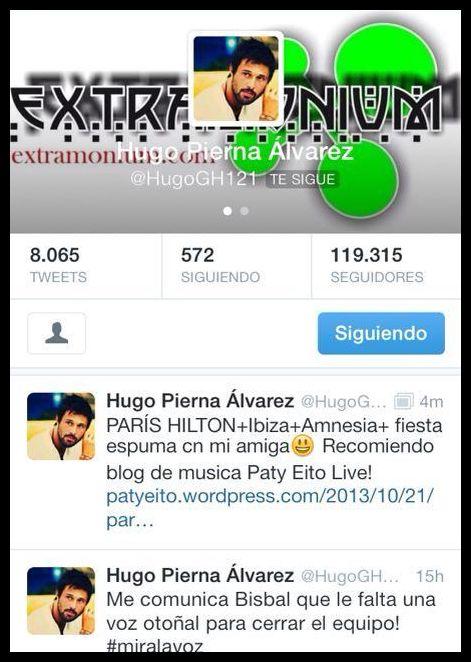 Hugo , uno de los primeros en recomendar el post de Paris Hilton , Gracias!!