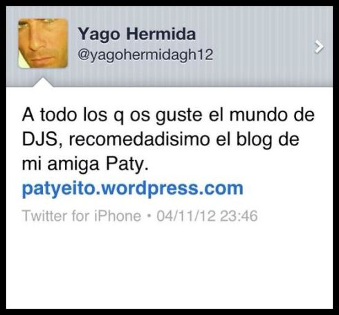 Yago: Mi amigo, mi compañero,mi socio mi TODO, I love you my Friend! :)