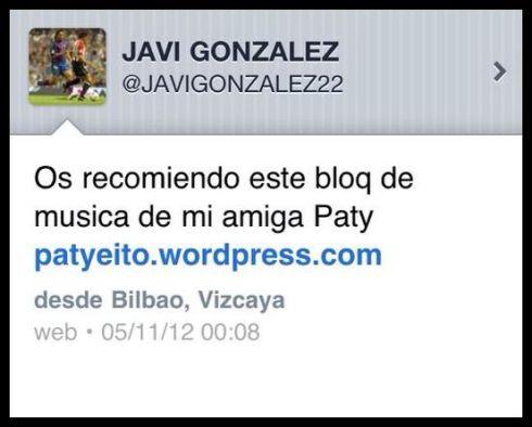 Ex jugador del Atlético de Bilbao y amigo incondicional, siempre con comentarios tan simpáticos jajaja!!!