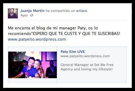 Juanjo Martin DJ español del cual he escrito algunos post , un beso!