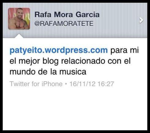 Muchas gracias por tu apoyo Rafa!! :)