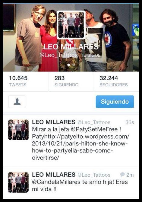 Leo Millares , mi tatuador favorito y amigo incondicional!!