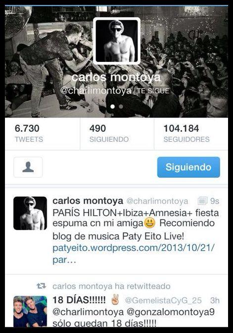 Carlos Montoya se lanza apoyando tambien a un blog de música !