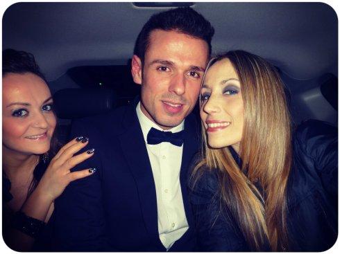 Ya estamos en el coche camino a los BRIT Awards!!
