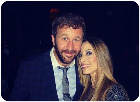 Con el actor de 'This is 40′ Chris O'Dowd, 2 días después de ver tu peli, va y te conozco!!