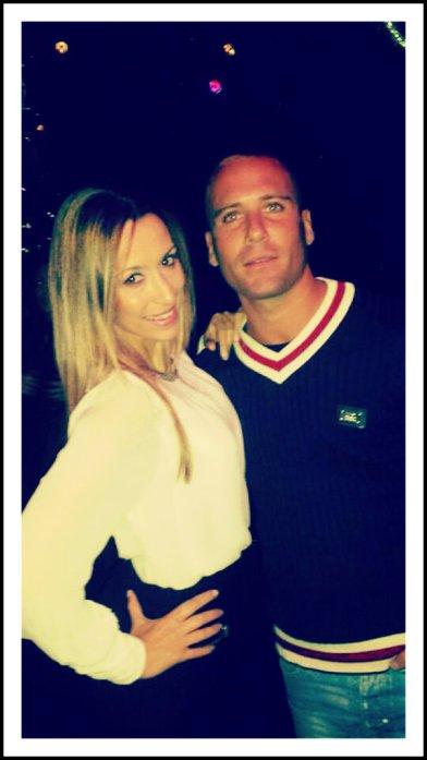 Con mi amigo Yago Hermida GH12