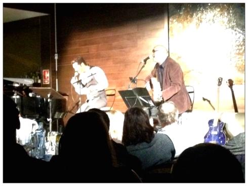Con tres músicos hicieron un gran espectáculo!